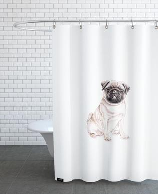 Mops Shower Curtain