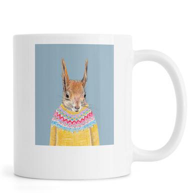 Hörnchen im Pullover