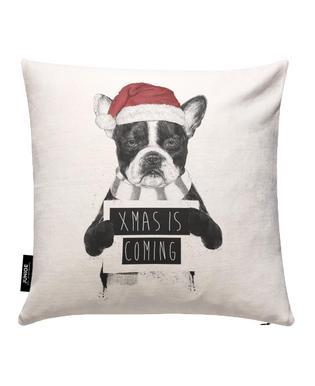 Xmas Dog Cushion Cover