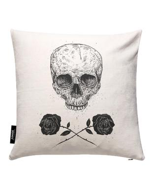 Skull N' Roses Cushion Cover