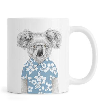 Summer Koala Blue mok