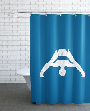 Yoga Practice 4 Shower Curtain