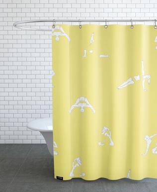 Yoga Practice 14 Shower Curtain