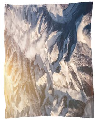 Raw 6 Nanortalik Greenland Fleece Blanket