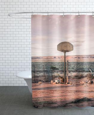 Streetball Courts 2 Utah USA Shower Curtain