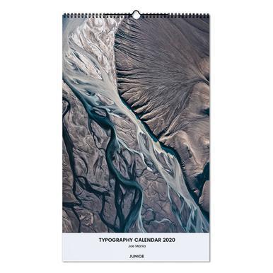 Typography Calendar 2020 - Joe Mania Wall Calendar