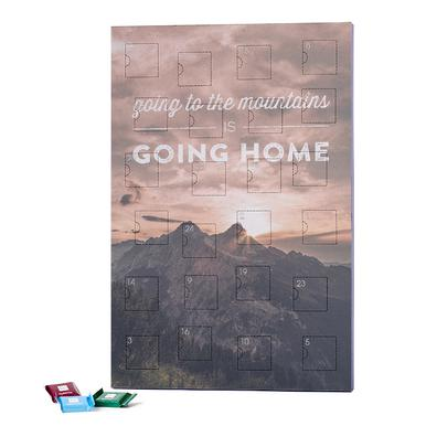 Going to the Mountains is Going Home 2019 Chocolate Advent Calendar - Ritter Sport