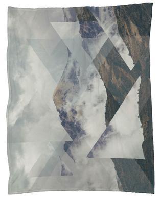 Scattered 2 Nevado del Ruiz Fleece Blanket