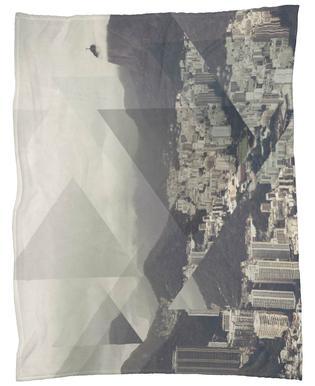 Scattered 2 Pan De Azucar Fleece Blanket