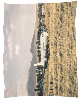 Raw 3 Airport Bolivia Fleece Blanket