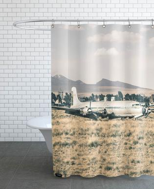 Raw 3 Airport Bolivia Shower Curtain