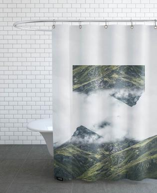 Mirrored 1 Andes Shower Curtain