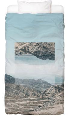 Mirrored 1 Death Valley Linge de lit