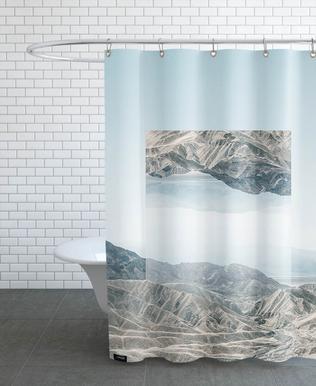 Mirrored 1 Death Valley Shower Curtain