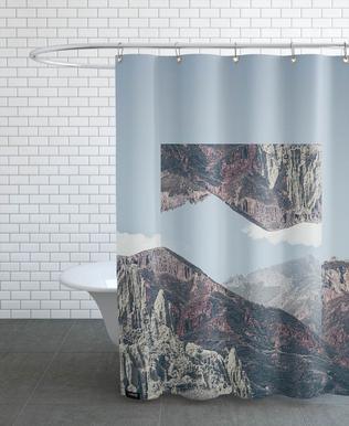 Mirrored 2 Chacaltaya -Duschvorhang