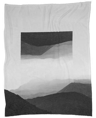 Mirrored 2 El Cocuy Fleece Blanket