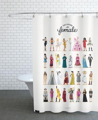The Future Is Female Shower Curtain