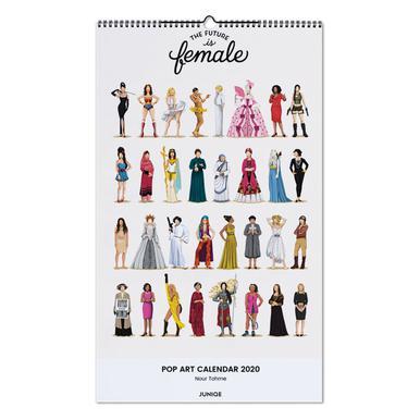 Pop Art Calendar 2020 - Nour Tohme -Wandkalender