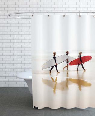 Surf Triple 2 Shower Curtain