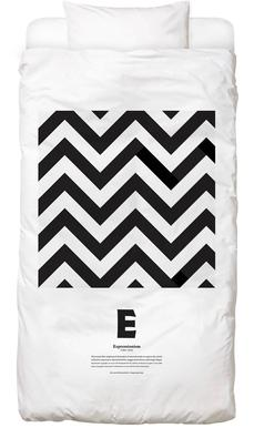 E - Expressionism Bed Linen