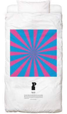 P - Pop Art Linge de lit