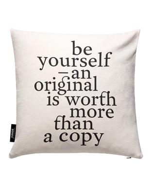 Be yourself Housse de coussin