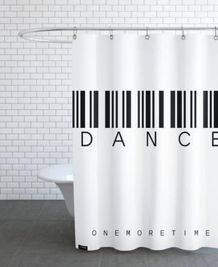 Barcode DANCE Shower Curtain