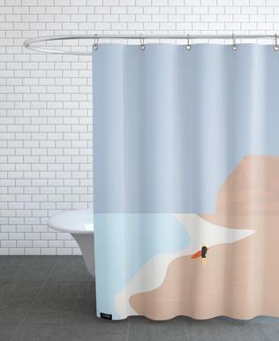 Fornøjelse Surf No. 01 -Duschvorhang