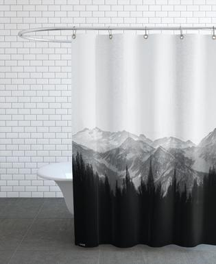 Brush Mountains -Duschvorhang