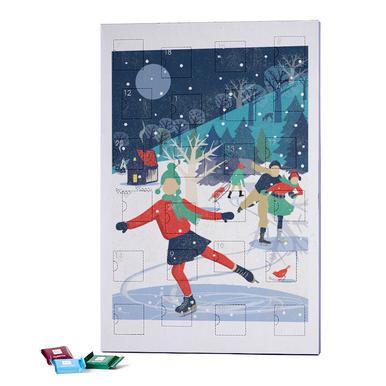 Skating Girl 2019 Chocolate Advent Calendar - Ritter Sport