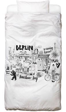BERLIN 2 Dekbedovertrekset