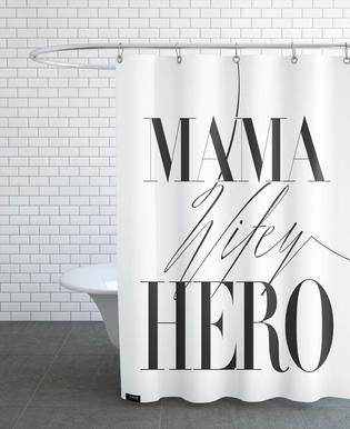 Mama Wifey Hero rideau de douche