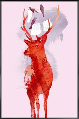 Useless deer Framed Poster