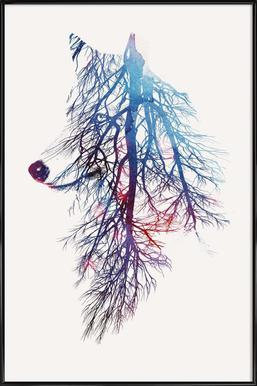 My Roots -Bild mit Kunststoffrahmen