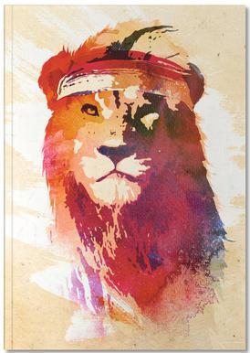 Gym Lion Notebook