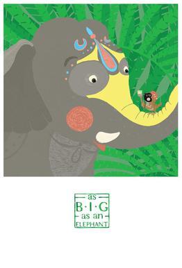 As big as an elephant -Alubild