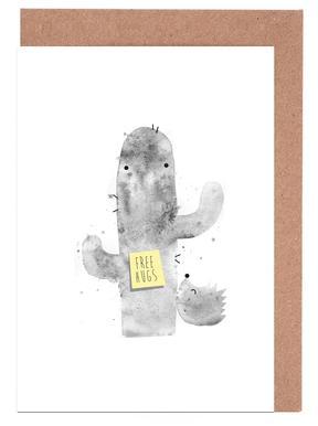 Hugs -Grußkarten-Set