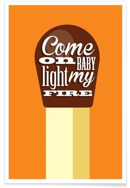 Fire Match Poster