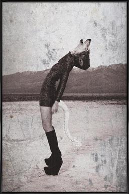 Wolf Girl Framed Poster