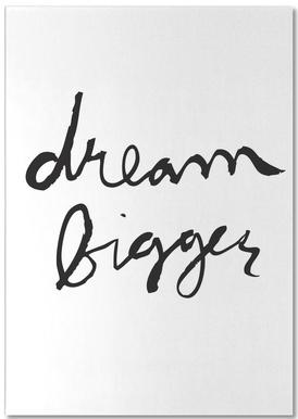 Dream Bigger Notepad