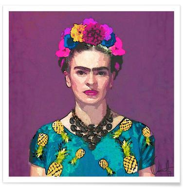 Trendy Frida Kahlo affiche