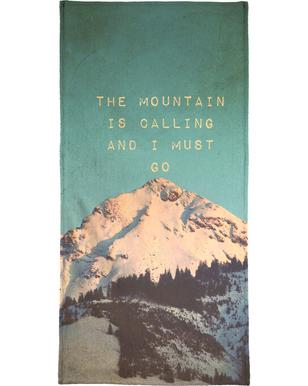 Mountain Is Calling Bath Towel