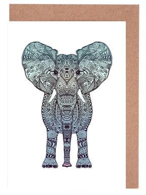 Mint Elephant cartes de vœux