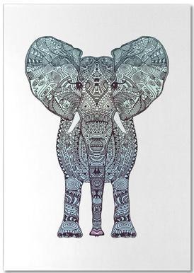 Mint Elephant Notepad