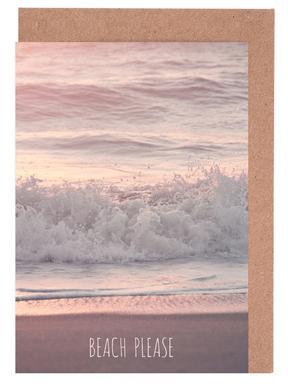 Beach Please wenskaartenset