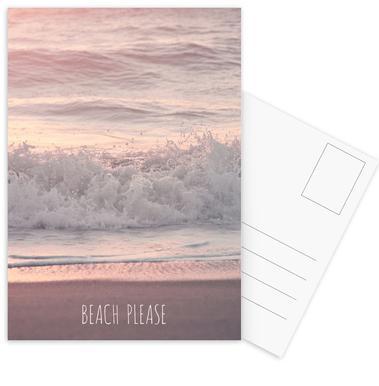 Beach Please Postcard Set