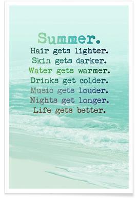 Summer affiche