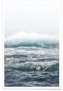 Big Splash Hawaii Poster