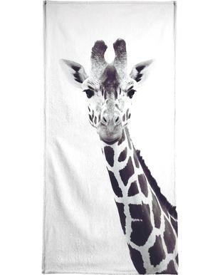 Giraffe -Strandtuch