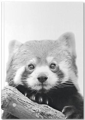 Red Panda carnet de notes